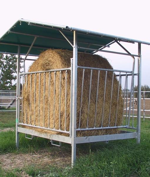 porta fieno mangiatoia per cavalli