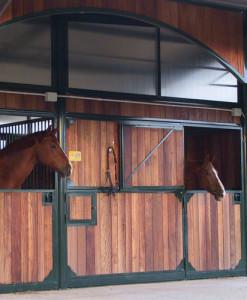 Box per cavalli e capannine per esterni