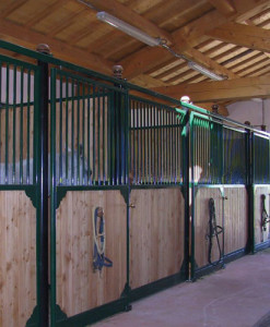 Box per cavalli per interni